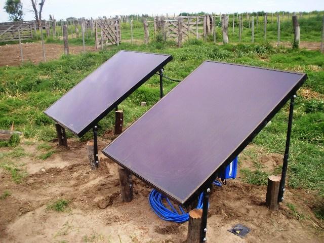 Bombas con paneles solares