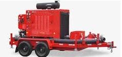 FabianiSRL - bomba portatil  con trailer transportable para incendios forestales - diesel hasta 200 hp