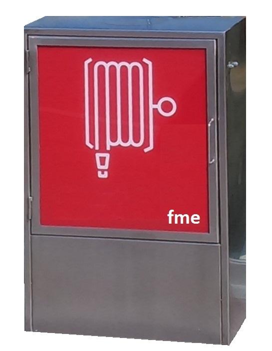 gabinete incendio inoxidable- FabianiSRL