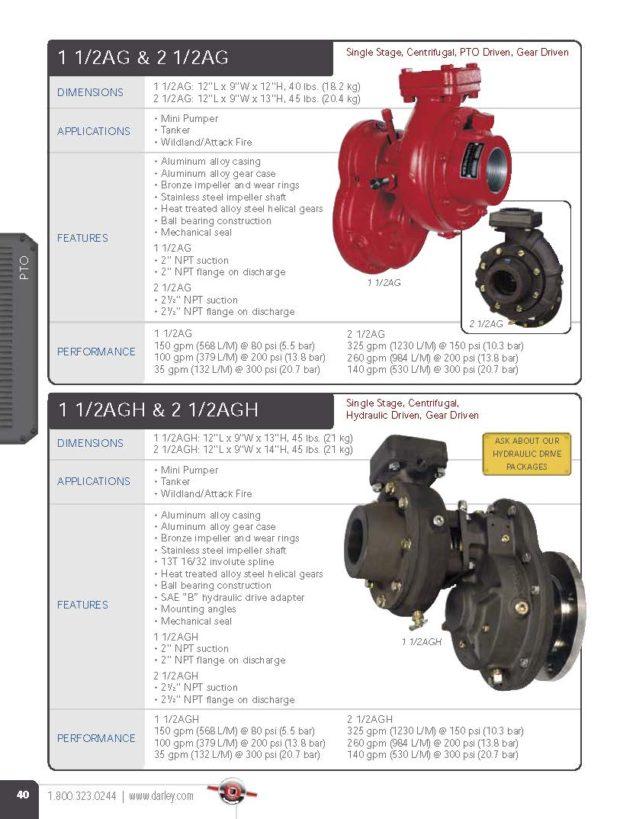 Fabiani SRL-Darley pump-AG serie
